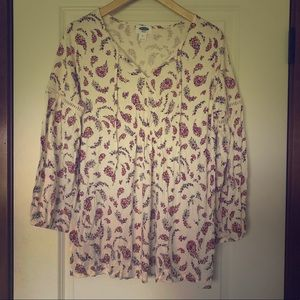 Old Navy Floral Maternity Top